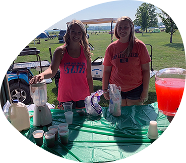 Camp Lake Erie staff